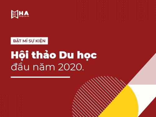 Hội thảo du học đầu năm 2020