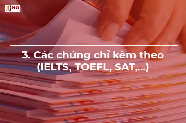 cách làm hồ sơ xin học bổng du học