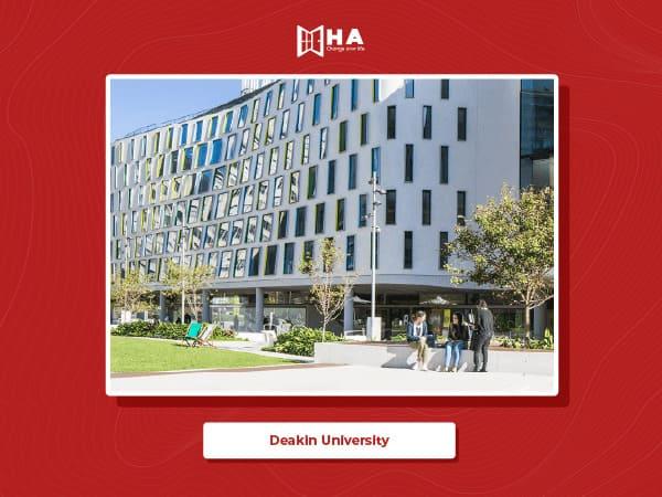 Deakin University top trường đại học hàng đầu khi đi du học Úc