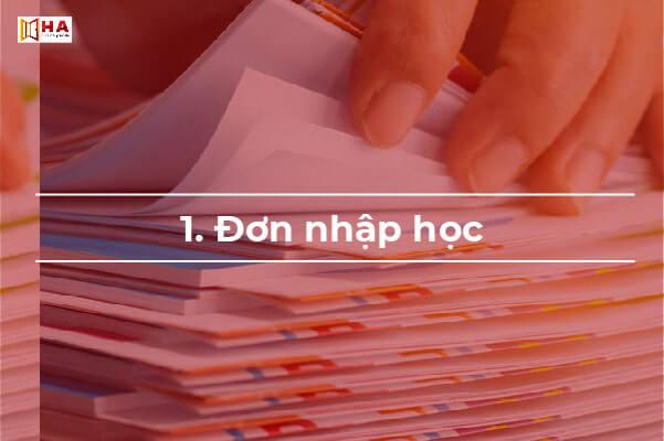 hồ sơ xin học bổng du học gồm những gì