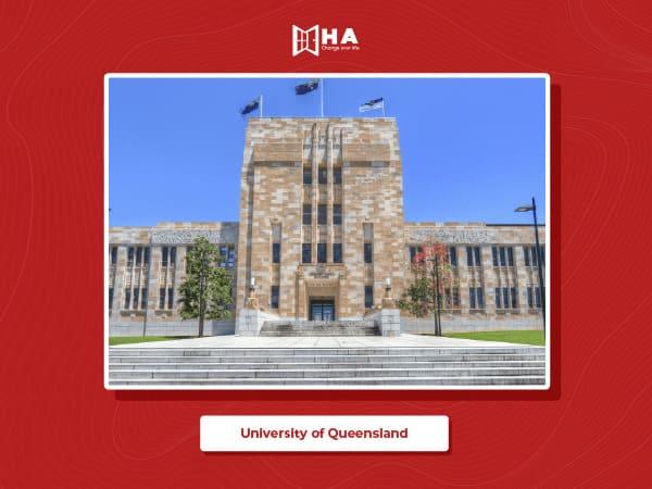 University of Queensland trường đại học hàng đầu du học Úc
