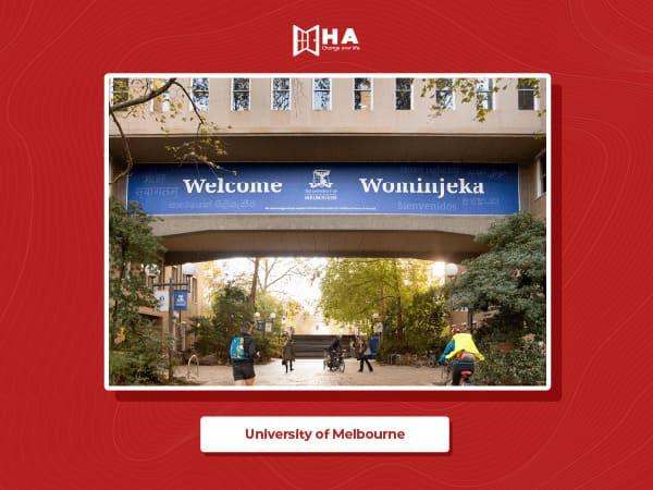 University of Melbourne top trường đại học ở Úc