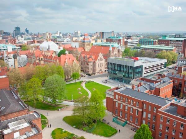 Nơi ở của sinh viên trường đại học Manchester