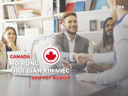 Canada tiếp tục mở rộng thời gian xin việc sau tốt nghiệp