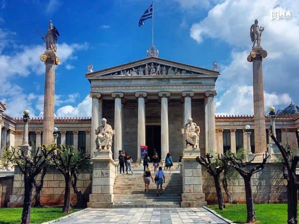 Những nước châu âu miễn học phí - Hy Lạp