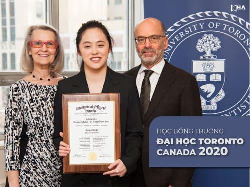 Học bổng trường đại học Toronto Canada 2020