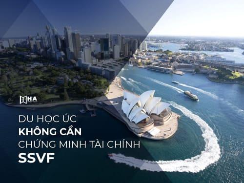 Du học Úc không cần chứng minh tài chính - SSVF