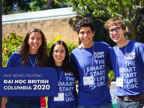 Săn học bổng trường đại học British Columbia 2020