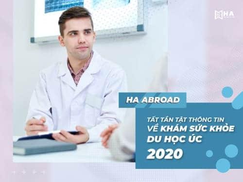 Tất tần tật thông tin về khám sức khỏe du học Úc 2020