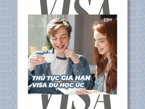 Thủ tục gia hạn visa du học Úc