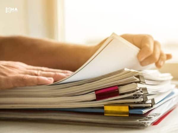 Upload giấy tờ đã chuẩn bị