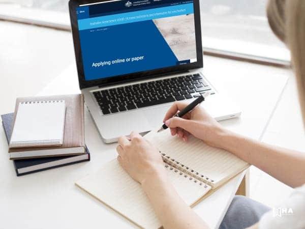 Quy trình thủ tục xin visa Úc online
