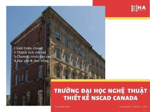 Trường đại học nghệ thuật thiết kế NSCAD Canada