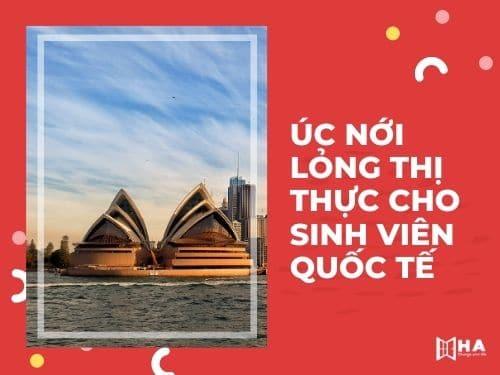 Úc nới lỏng thị thực cho du học sinh quốc tế
