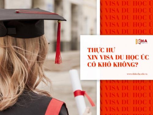 Thực hư xin visa du học Úc có khó không?