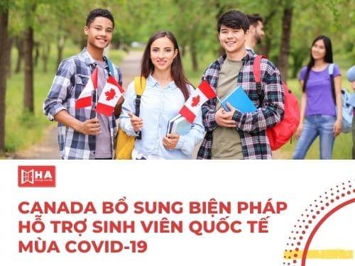 Canada bổ sung biện pháp hỗ trợ sinh viên quốc tế mùa Covid 19