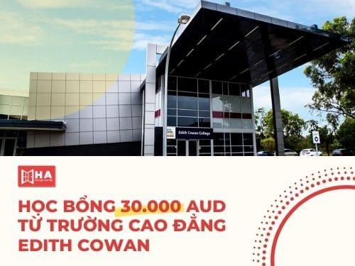 Học bổng giá trị 30.000 AUD từ chương trình chuyển tiếp đại học Edith Cowan