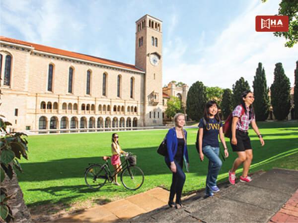 Học phí & Học bổng Đại học Tây Úc