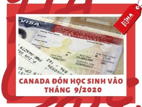 Canada đón học sinh vào trở lại vào tháng 9/2020