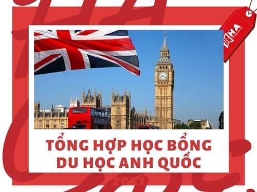 Tổng hợp học bổng du học Anh Quốc 2021