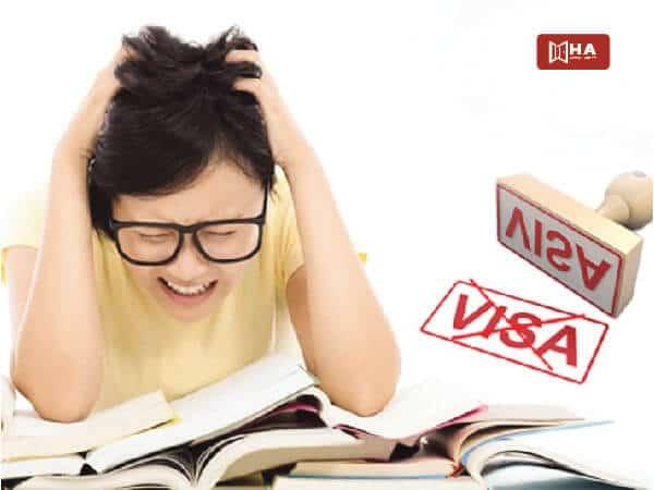 Cách giải quyết nếu rớt visa du học Mỹ