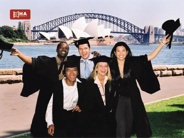 Lộ trình du học Úc sau khi Tốt nghiệp THPT