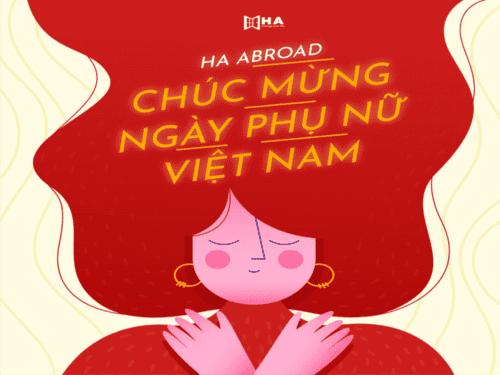 HA Abroad chúc mừng ngày Phụ Nữ Việt Nam 20/10