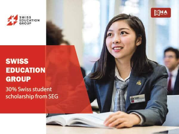 Học bổng du học Thụy Sĩ trị giá 30% từ SEG