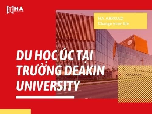 Du học Úc tại trường đại học Deakin
