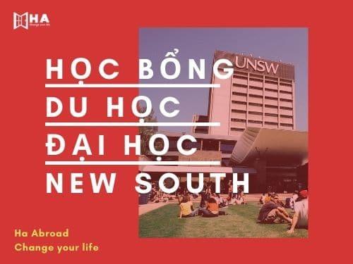 Học bổng du học đại học New South Wales 2020-2021