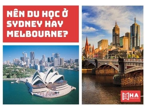 Nên du học ở Sydney hay Melbourne? Bạn đã biết chưa?