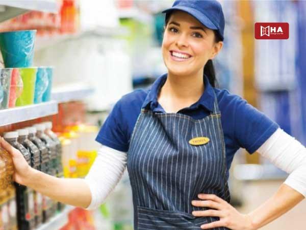 Nhân viên bán hàng công việc làm thêm ở canada