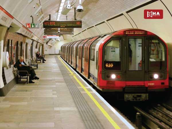 Tàu điện ngầm/Metro các phương tiện giao thông ở anh
