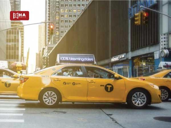 Taxi các phương tiện giao thông ở anh