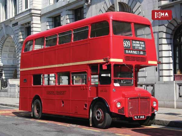 Xe bus các phương tiện giao thông ở anh