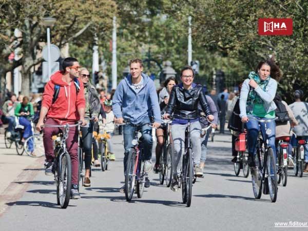 Xe đạp các phương tiện giao thông ở anh