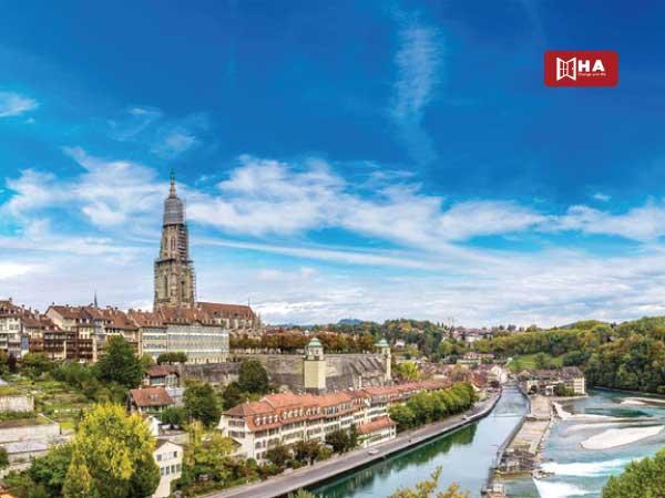 Thành phố Bern cổ kính