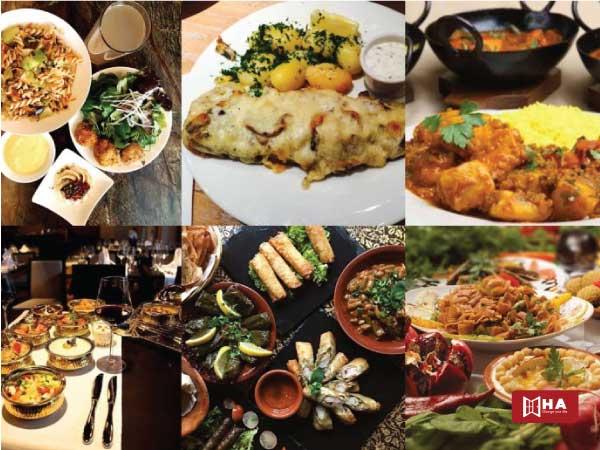 Văn hóa ăn uống có thể khác biệt giữa các vùng