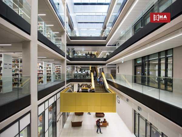 Thư viện đại học Birmingham
