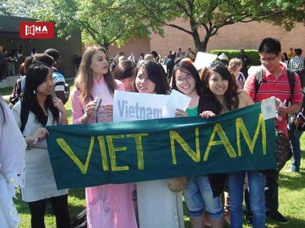 Số lượng sinh viên Việt Nam ở Mỹ nhiều
