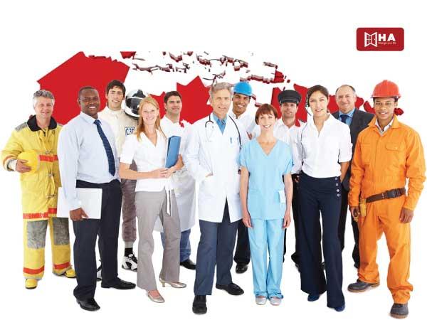 cách tính điểm định cư Canada Sắp xếp việc làm tại Canada