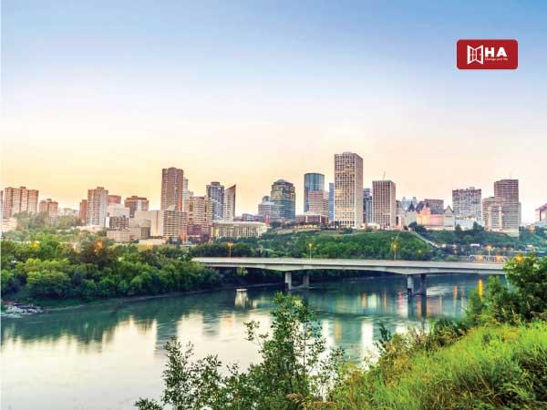Du học Canada nên chọn bang nào Edmonton – Bang Alberta