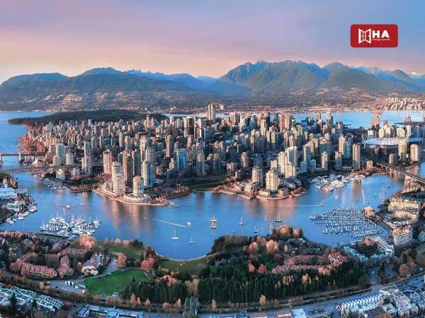 Du học Canada nên chọn bang nào Vancouver – Bang British Columbia