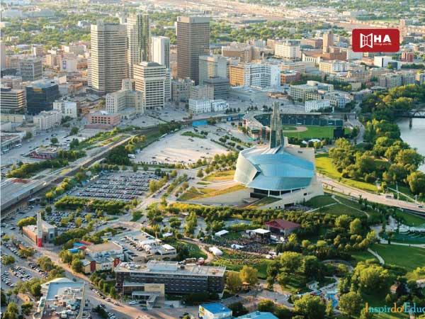 Du học Canada nên chọn bang nào Winnipeg – Bang Manitoba