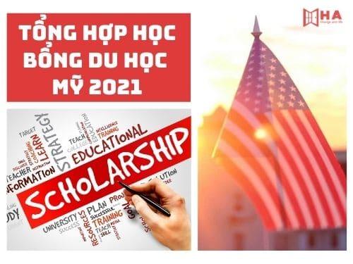 Tổng hợp học bổng du học Mỹ 2021 lên tới 100%