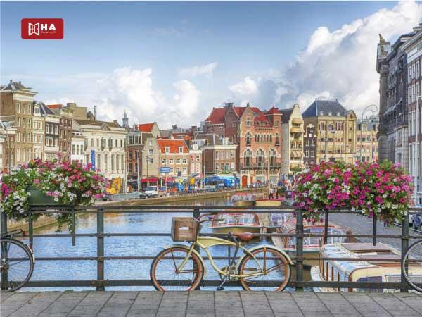Thành phố Amsterdam thành phố khi du học Hà Lan