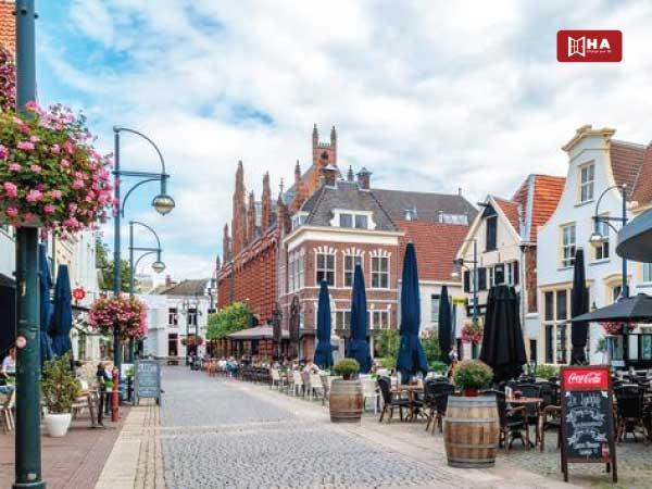 Thành phố Arnhem thành phố khi du học Hà Lan