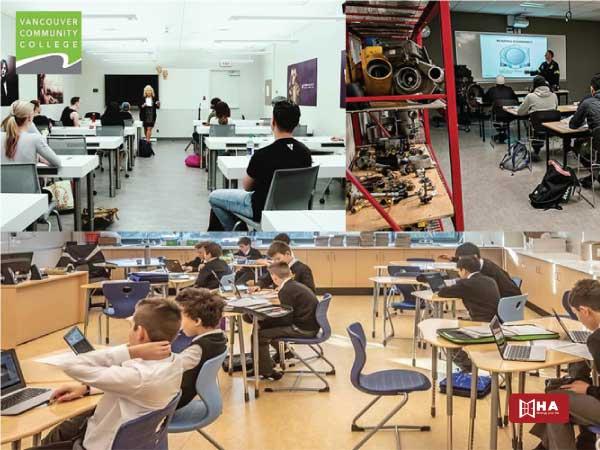 Chương trình đào tạo trường Vancouver Community College