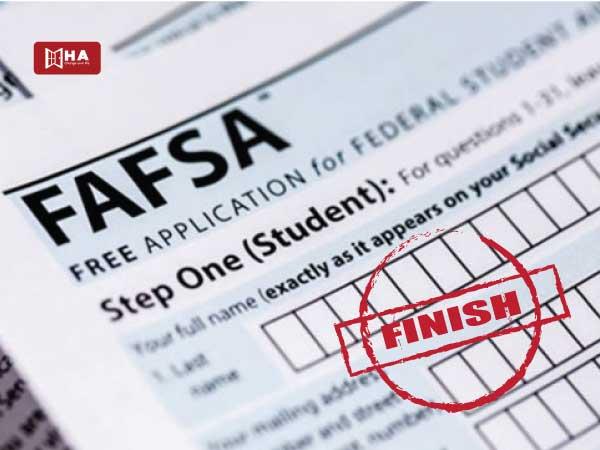 Hoàn thành đơn xin hỗ trợ tài chính FAFSA tiết kiệm chi phí du học mỹ