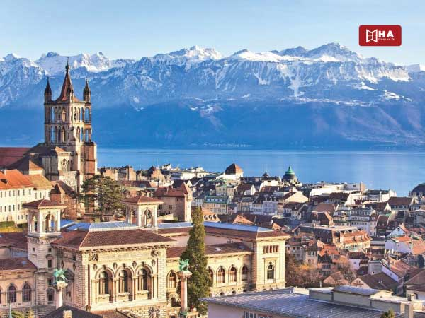 Thành phố Lausanne thành phố khi du học Thụy Sĩ